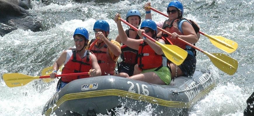 Rishikesh River Rafting Tour width=