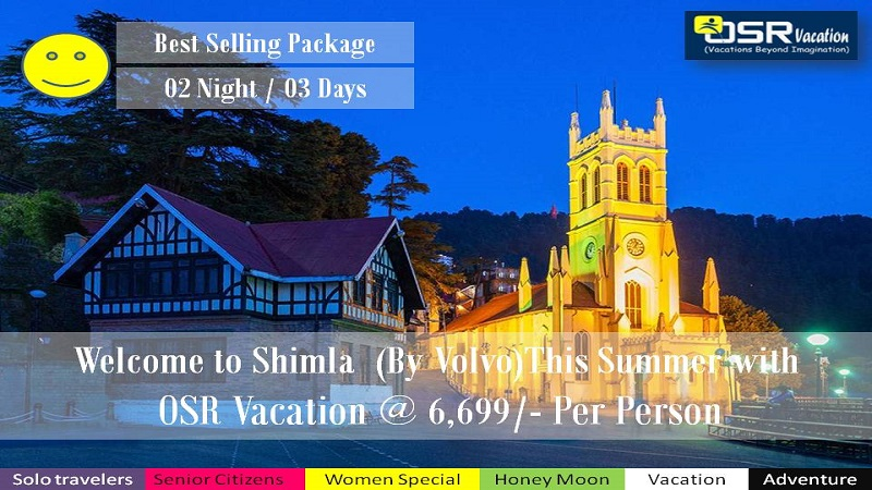 Shimla Volvo Tour Packages