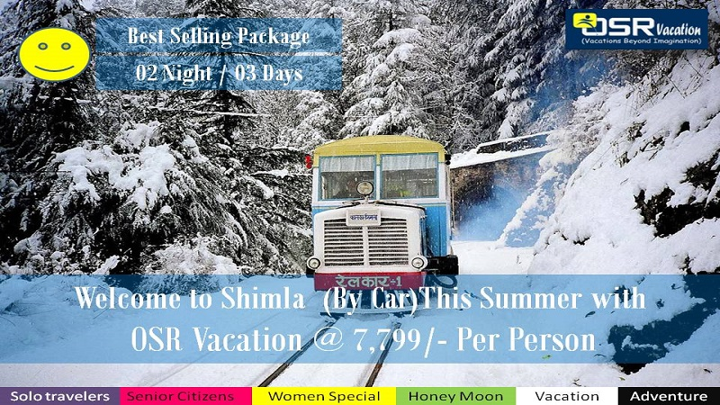 Shimla Car Tour Packages